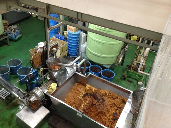 六甲味噌工場見学