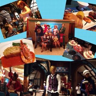 ユニバーサルスタジオジャパン サンジのレストラン