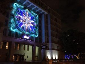 OSAKA光のルネサンス プロジェクションマッピング イルミネーション