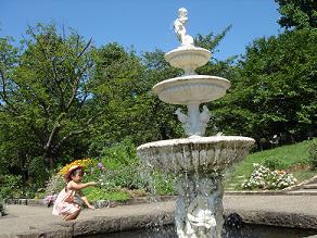 北山緑化植物園 植物園 花見 水遊び