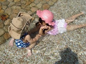 県立西猪名公園 ウォーターランド プール遊び