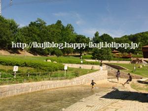 一庫公園 ピクニック 水遊び 公園