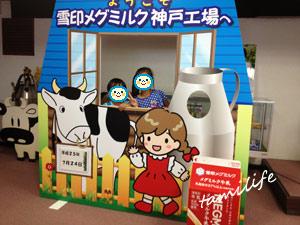 食品工場見学 雪印メグミルク神戸工場 夏休み自由研究