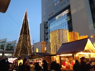 新梅田シティ ドイツクリスマスマーケット イルミネーション