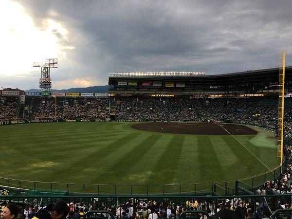 阪神甲子園球場 中日戦 阪神タイガース