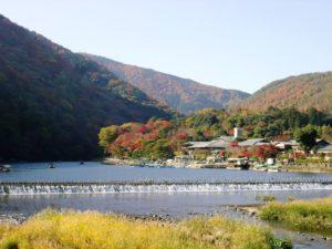 嵐山 京都紅葉名所