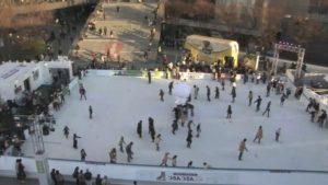 グランフロント大阪 つるんつるん アイススケート