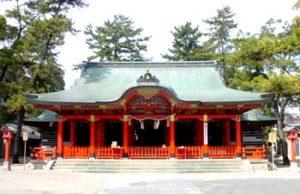 長田神社 初詣 参拝 神社・神宮