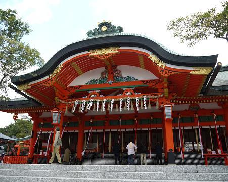伏見稲荷大社 初詣 参拝 神社・神宮
