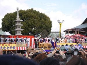成田山不動尊 節分祭 豆まき 参拝 神社・神宮