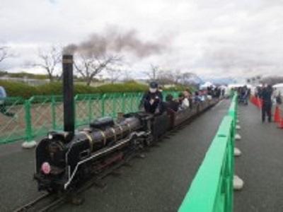 万博記念公園 鉄道祭り 公園