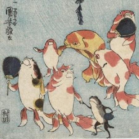 大阪市立美術館 江戸の戯画