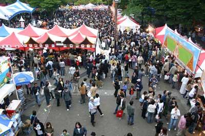 大阪城公園 タイフェスティバル