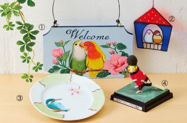 あべのハルカス近鉄本店 小鳥のアートフェスタ 百貨店