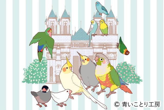 阪神梅田本店 心うるおう小鳥ガーデン 百貨店