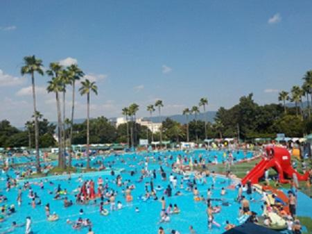 久宝寺公園プール プール開き