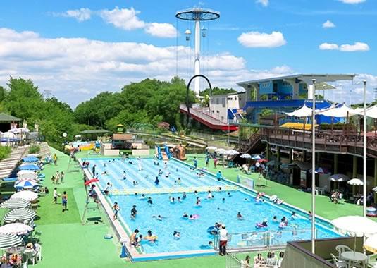 関西サイクルスポーツセンターフォレ・リゾ プール開き