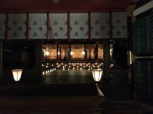 西宮神社 えびす万灯籠 サマーイルミネーション