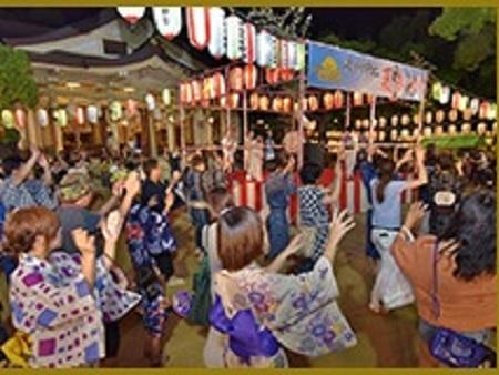 湊川神社 菊水天神祭 夏祭り 盆踊り