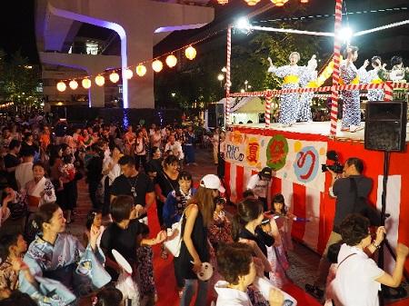 RICサマーイブニングカーニバル 夏祭り 夏休み 六甲アイランド