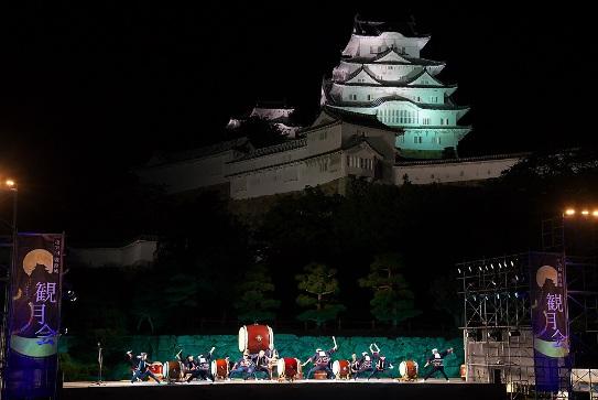 姫路城観月会 お月見 城