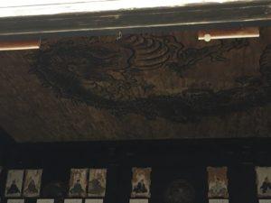 金地院 龍の天井画