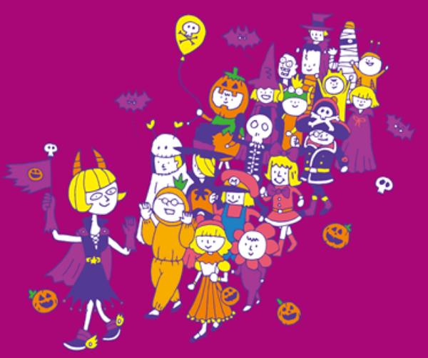 ららぽーと甲子園 ハロウィンパレード