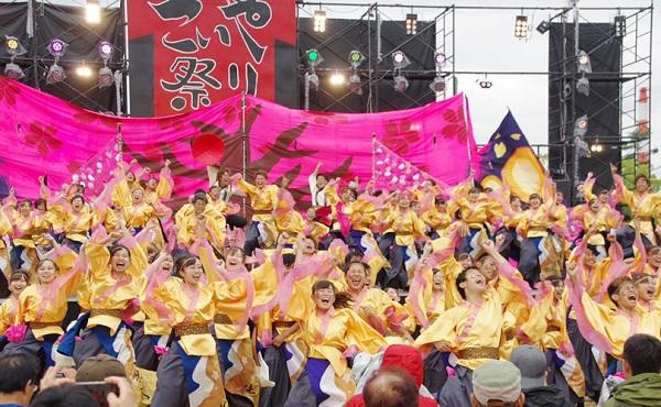 淡路夢舞台 淡路よさこいフェスティバル