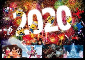 ユニバーサルスタジオジャパンカウントダウンパーティー2020年