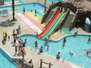 幼児用滑り台&幼児用プール 茨木市立西河原市民プール