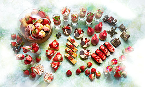インターコンチネンタル ストロベリーブッフェ strawberry2021