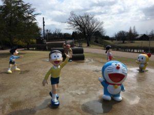 高岡市美術館2階 藤子・F・不二雄ふるさとギャラリー アニメ聖地巡り ドラえもん 高岡おとぎの森公園