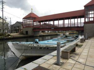 人生の約束 映画ロケ地 射水市船の水路 東橋