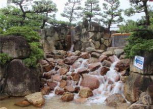 西猪名公園ウォーターランド 水遊び場