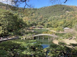 香川旅行 栗林公園 庭園