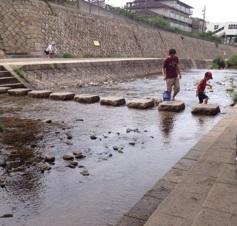 住吉川 川遊び・水遊び